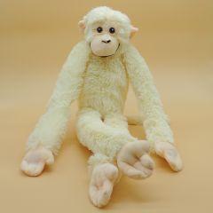Affe weiß mit Klettverschluss