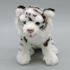 Kuscheltier Tiger weiß
