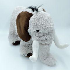 XXL Elefant Kuscheltier stehend grau 32 cm groß