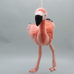 Flamingo Kuscheltier aus weichem Plüsch