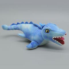 Jurassic World - Dinosaurier Plüsch Schlüsselanhänger - Mosasaurus