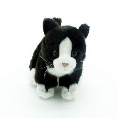 Kuscheltier Katzenbaby stehend schwarz