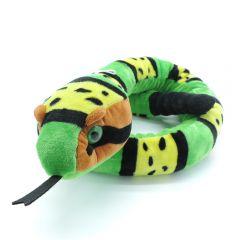 Schlange mit Klapper grün (135cm)