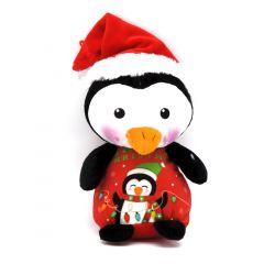 Weihnachtsplüschtiere Pinguin - Happy Christmas