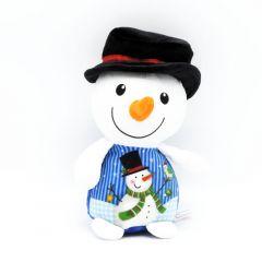 Weihnachtsplüschtiere Schneemann